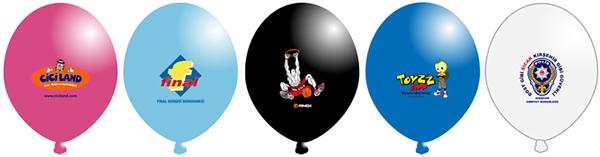 Antalya baskılı Balon Dört renk baskı Örneği